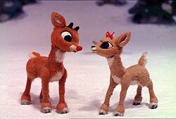 Rudolph The Red Nosed Reindeer And Clarice