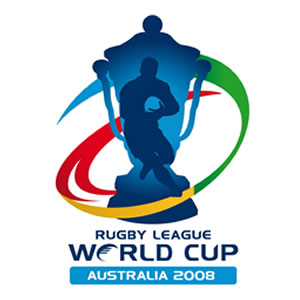 Rugby league world cup logo