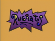 The 2nd Rugrats logo (1991-2004)