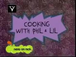 Cooking with Phil and Lil Title Card