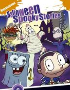 Nicktoons Halloween Spooky Stories VHS UK