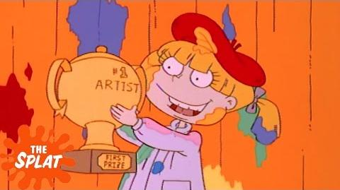 Angelica the Artist Rugrats The Splat