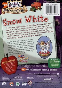 Tales From the Crib Snow White DVD Back Cover