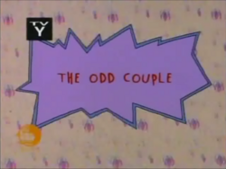 The Odd Couple title