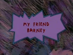 Rugrats - My Friend Barney