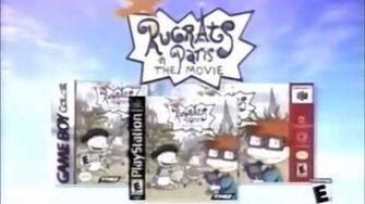 Rugrats In Paris Games Ad (2000)