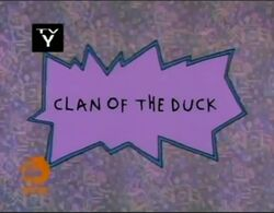 Rugrats - Clan Of The Duck