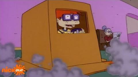 Chuckie Finster & The Space Box Rugrats NickSplat