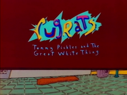 Tommy Pickles and the Great White Thing - Rugrats Logo