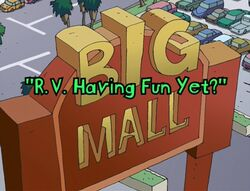 R.V. Having Fun Yet Title Card