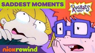 The Saddest Moments on Rugrats! 😭 NickRewind