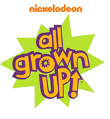 Nickelodeon All Grown Up Logo 2018