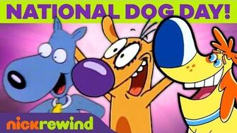 National Dog Day! 🐶 Celebrate Your Pup w Ren & Stimpy, CatDog, & Rugrats NickRewind