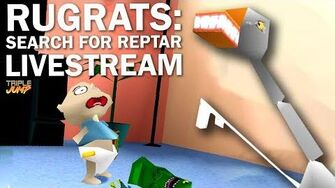 Rugrats Search For Reptar - TITLED GOOSE GAME TripleJump Live