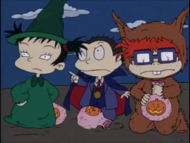 Curse of the Werewuff - Rugrats 685