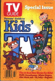 Rugrats TV Guide Cover Book