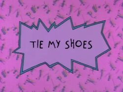 Rugrats - Tie My Shoes