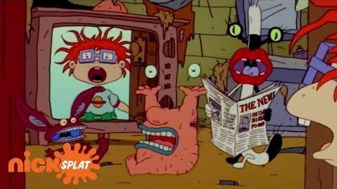 The Rugrats Run Into Aaahh!!! Real Monsters Rugrats NickSplat