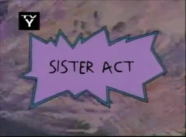 Sister's Act Title Card