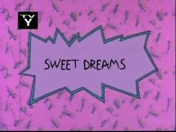 Sweet Dreams Title Card