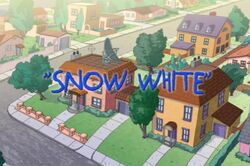 Snow White Title Card
