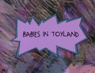 Rugrats - Babies in Toyland Title Card