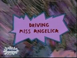 Driving Miss Angelica Title Card
