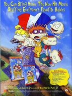 Rugrats in Paris on video Advertisement