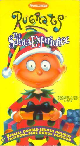 Doug Christmas Story Vhs.The Santa Experience Vhs Rugrats Wiki Fandom Powered