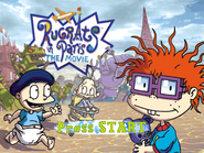 Rugrats in Paris - Title Screen