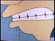 Drew's Mouth Close-Up