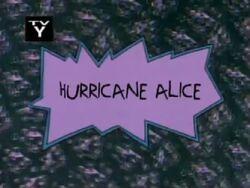 Rugrats - Hurricane Alice