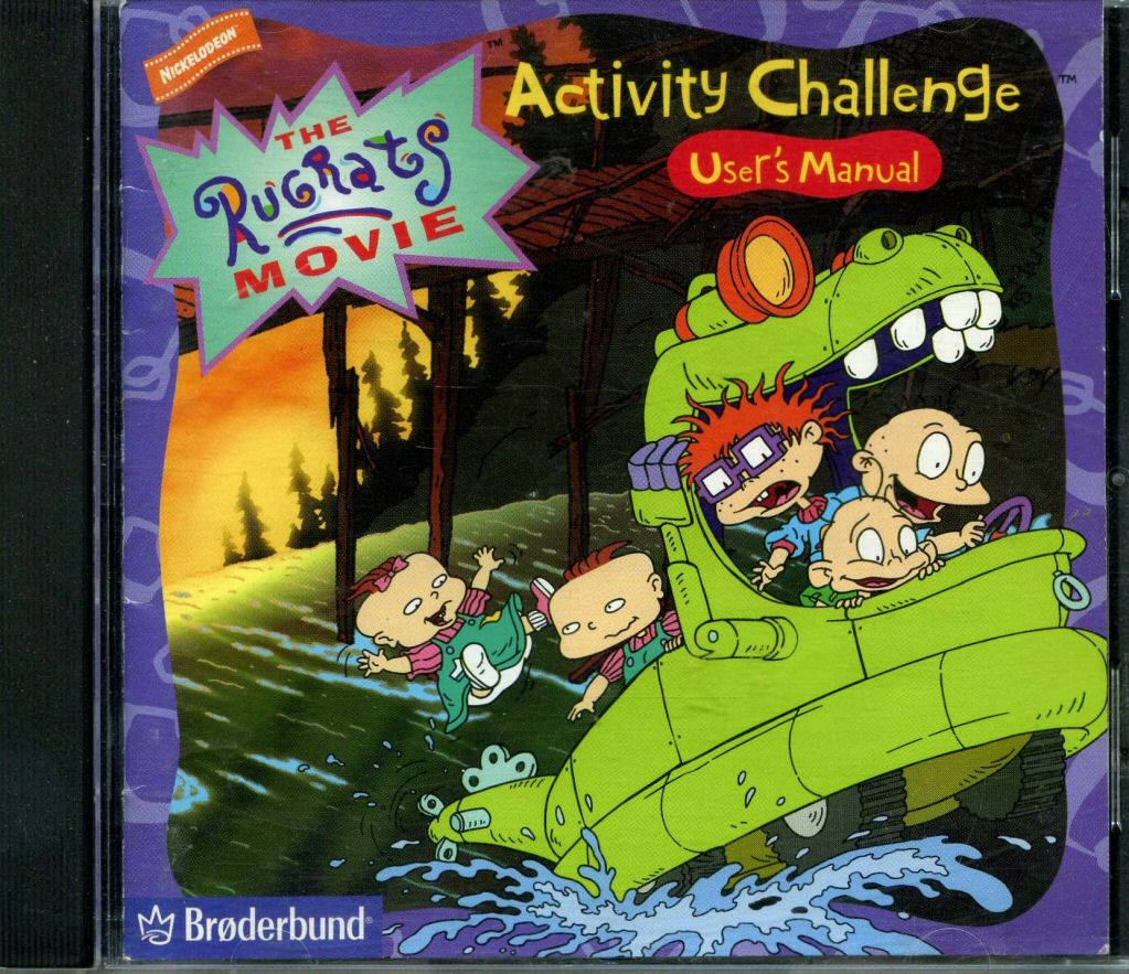 The Rugrats Movie Activity Challenge | Rugrats Wiki ...