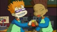 Chuckie and Susie dressed like Tommy