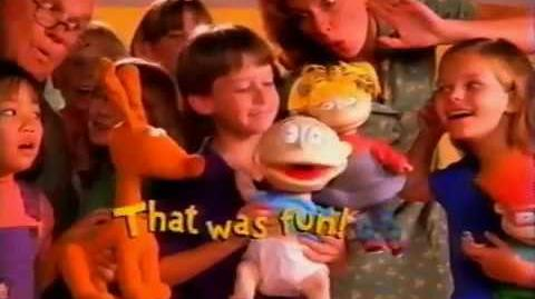 Nickelodeon Rugrats Toys Commercial