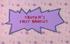 Chuckie's first hair cut title card
