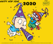 Rugrats Happy New Year 2020 Wallpaper