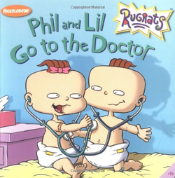 Phil and Lil Go to the Doctor Cover
