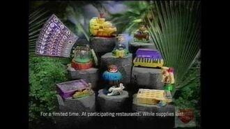 Burger King Kids Meal Rugrats Television Commercial 2003