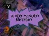 A Very McNulty Birthday