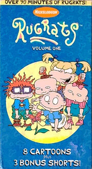 Rugrats Volume One VHS box (1)