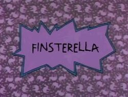 Finsterella Title Card