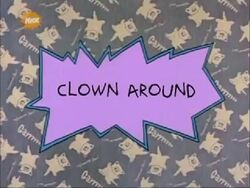 Clown Around Title Card