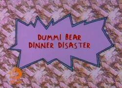 DummiBearDinnerDisaster-TitleCard