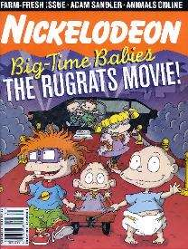The Rugrats Movie Magazine book