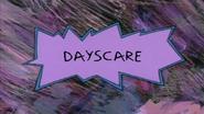Dayscare title card