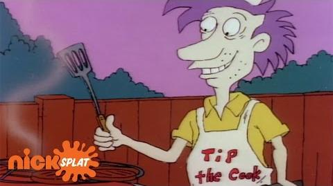 Stu Pickles Loves A Good Barbecue Rugrats NickSplat