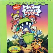 The Rugrats Movie Laser Disc