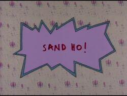 Sand Ho! Title Card