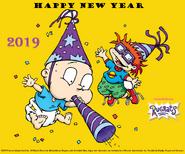 Rugrats 2019 New Year Wallpaper